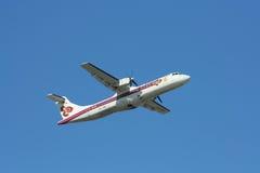HS-TRA ATR72-200 Thaiairway стоковые изображения