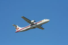 HS-TRA ATR72-200 Thaiairway Obrazy Stock