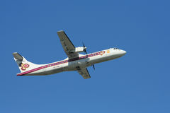 HS-TRA of ATR72-200 Thaiairway Royalty Free Stock Photo