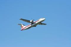 HS-TRA of ATR72-200 Thaiairway Stock Photo