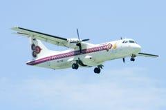 HS-TRB  ATR72-200 of Thai Airways Stock Photo