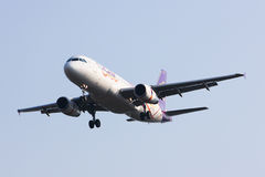 HS-TXC Airbus A320-200 da via aérea de Thaismile Foto de Stock Royalty Free