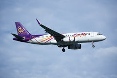 HS-TXM Airbus A320-200 of Thaismile airway. Royalty Free Stock Photography
