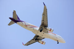 HS-TXO Airbus A320-200 of Thaismile airway. Royalty Free Stock Photos