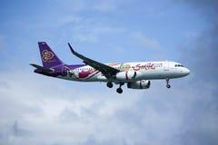 HS-TXQ Airbus A320-200 da via aérea de Thaismile Foto de Stock