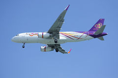 HS-TXT  Airbus A320-200 of Thaismile airway. Royalty Free Stock Photo
