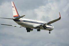 HS-TYS Boeing 737-800 av kungligt thailändskt flygvapen Arkivbilder