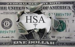HSA dollar concept Stock Photography