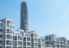 HSB Turning Torso Malmo Sweden. HSB Turning Torso in Malmo in Sweden Stock Photography