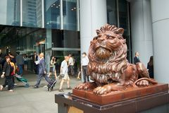 HSBC zdjęcie royalty free