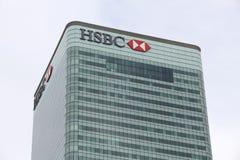 HSBC Imagens de Stock Royalty Free