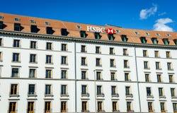 Банк HSBC Стоковое Изображение RF
