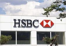 HSBC Bank Royalty Free Stock Photos
