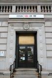 HSBC Bank, Chinatown Stock Photos