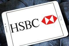 HSBC bank logo Royalty Free Stock Images
