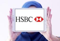 HSBC bank logo Stock Images