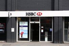 HSBC Bank Royalty Free Stock Photography