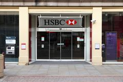HSBC Bank Stock Image