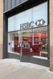 HSBC Bank, New York Royalty Free Stock Photography