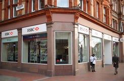 HSBC Bank Stock Image