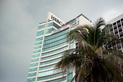 HSBC building in Kuala Lumpur Royalty Free Stock Photos