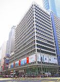 The hsbc building, mongkok, hong kong Royalty Free Stock Photo