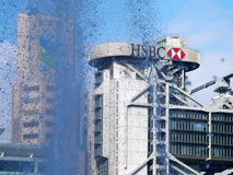 HSBC headquarters in Hong Kong Royalty Free Stock Image