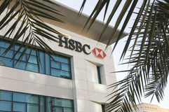 HSBC incassa Fotografia Stock Libera da Diritti