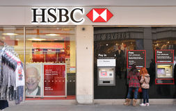 HSBC in Liverpool Royalty Free Stock Photography