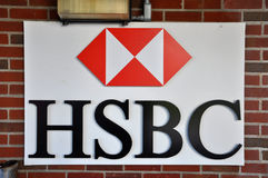HSBC logo Stock Photos