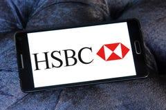 Hsbc logo Royalty Free Stock Image