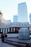HSBC Tower & Canary Wharf Tower. Royalty Free Stock Photo