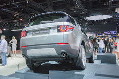 HSE van landrover discovery sport Luxeauto 2015 Stock Foto's