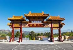 Hsi Lai Temple Gate Stock Photos
