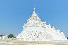 Hsinbyume or Myatheindan pagoda in Mingun Royalty Free Stock Images