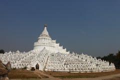 Hsinbyume (Myatheindan) paya , Mingun, Mandalay Myanmar Stock Photography