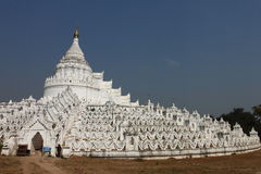 Hsinbyume (Myatheindan) paya , Mingun, Mandalay Myanmar Stock Photos