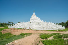 Hsinbyume pagod i Sagaing den gamla staden av Myanmar Arkivfoton