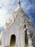 Hsinbyume Pagoda in Mingun, Mandalay, Myanmar Stock Photos