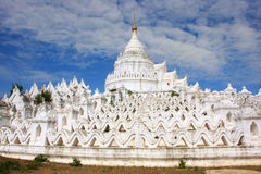 Hsinbyume Pagoda in Mingun, Mandalay, Myanmar Royalty Free Stock Images