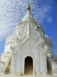 Hsinbyume Pagoda in Mingun, Mandalay, Myanmar Royalty Free Stock Photo