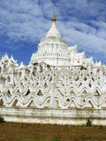 Hsinbyume Pagoda in Mingun, Mandalay, Myanmar Stock Photo