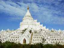 Hsinbyume Pagoda in Mingun, Mandalay region, Myanmar Stock Images
