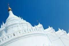 Hsinbyume pagoda, Mingun, Myanmar Royalty Free Stock Images