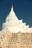 Hsinbyume pagoda, Mingun, Myanmar Royalty Free Stock Image