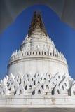 Hsinbyume Pagoda - Mingun - Myanmar Stock Photography