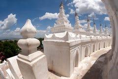 Hsinbyume Pagoda in Myanmar. Royalty Free Stock Photos
