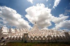 Hsinbyume pagoda w Myanmar Obraz Royalty Free