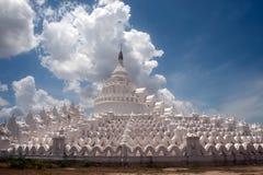 Hsinbyume pagoda w Myanmar Zdjęcie Royalty Free
