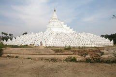 Hsinbyume-Pagode oder Myatheindan-Pagode Myanmar Stockfotografie